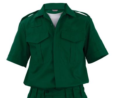 Camicia Estiva Verde